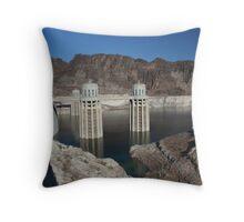 Hoover Dam - Engineering Marvel Throw Pillow