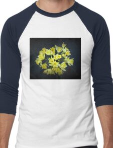 Daffodils Reaching Out Men's Baseball ¾ T-Shirt
