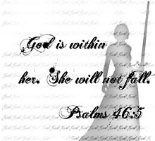 God is within her by Mayra Ramirez