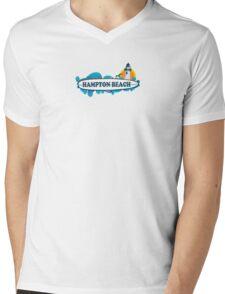 Hampton Beach. Mens V-Neck T-Shirt