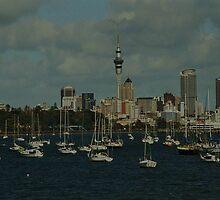 The Auckland Skyline by Kyle  Jackson