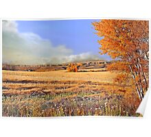 One autumn afternoon on the rolling prairie... Poster