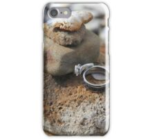 Cairn with Rings iPhone Case/Skin