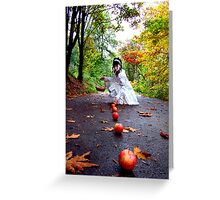 October Apples Greeting Card