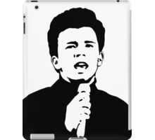 Rick Astley (Black) iPad Case/Skin