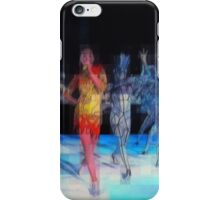 Ten Men, halftime singers, abstract pixel art, Superbowl 2015 iPhone Case/Skin