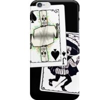 Jack of the Undead Spades iPhone Case/Skin