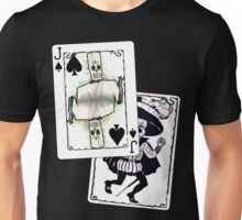 Jack of the Undead Spades Unisex T-Shirt