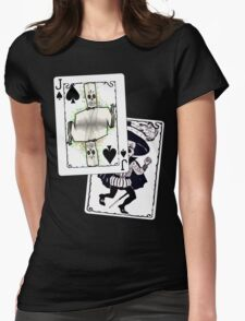 Jack of the Undead Spades Womens Fitted T-Shirt