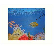 Under sea beauty Art Print