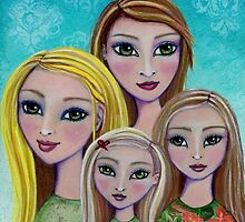 Four Girls From Another Place by Cindy Hogan