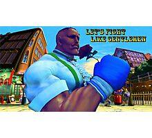 Let's Fight Like Gentlemen! Photographic Print
