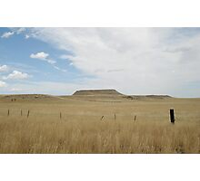 Battle Butte Photographic Print