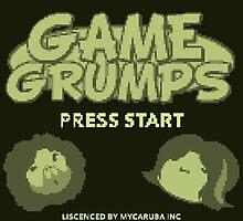 Game Grumps GameBoy by GamrParadise
