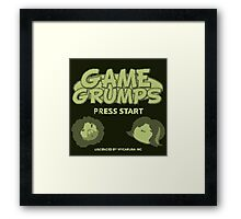 Game Grumps GameBoy Framed Print