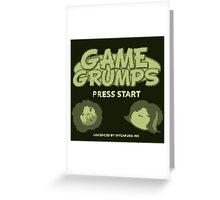 Game Grumps GameBoy Greeting Card