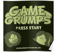 Game Grumps GameBoy Poster