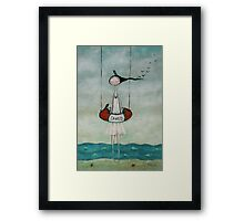 You saved me Framed Print