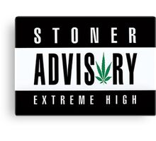 Stoner Advisory Canvas Print