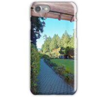 Butchart Gardens 1, 1993 iPhone Case/Skin