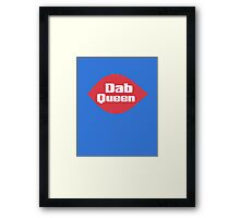 Dab Queen Framed Print