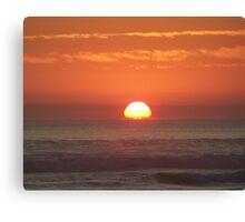 Orange Skies Canvas Print
