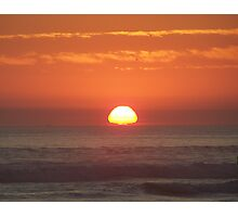 Orange Skies Photographic Print