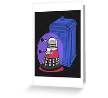 Daleks in Disguise - Third Doctor Greeting Card