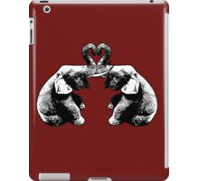Elephants Love iPad Case/Skin
