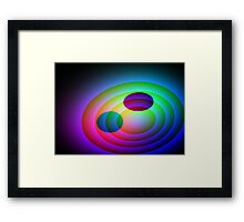 Twin Planets-Available As Art Prints-Mugs,Cases,Duvets,T Shirts,Stickers,etc Framed Print