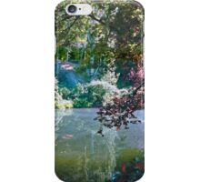 Pool in Sunshine, Butchart Gardens, BC, Canada iPhone Case/Skin