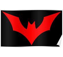 Batman Beyond Logo Poster