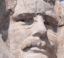 Theodore Roosevelt, Mount Rushmore National Memorial  by Alex Preiss