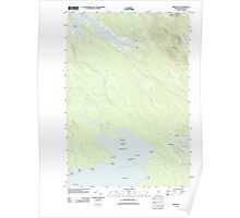 Maine USGS Historical Map Brookton 20110829 TM Poster