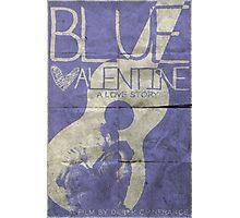 blue valentine minimalist poster Photographic Print