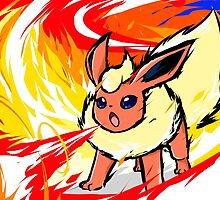 Flareon   Fire Spin by ishmam
