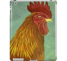 Rooster portrait iPad Case/Skin