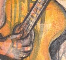 Soul Strings Sticker