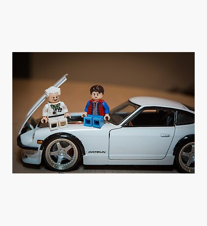 Doc and Marty on a Z Photographic Print