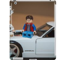 Doc and Marty on a Z iPad Case/Skin