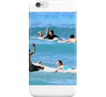 Kids wild wipe out iPhone Case/Skin