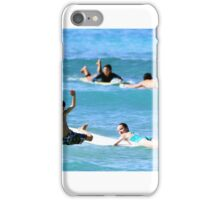 Kids wild wipe out iPhone Case/Skin