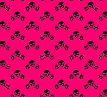 Skull Back Up Design by Sookiesooker