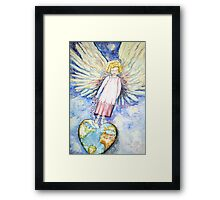 Love For the World Framed Print