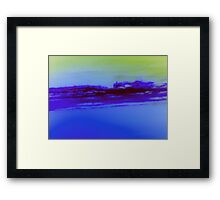Deep Blue Sky-Available As Art Prints-Mugs,Cases,Duvets,T Shirts,Stickers,etc Framed Print