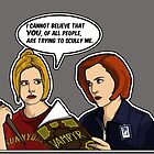 Scully Me. by Anna Welker