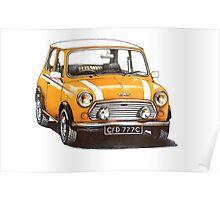 1991 Rover Mini Cooper  Poster