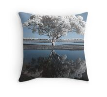 Infrared tree, Redcliffe, Queensland Throw Pillow