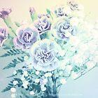 Carnations In Vintage Pastels by Stephanie Rachel Seely
