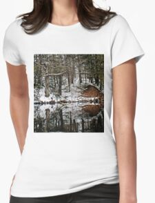 Mirror Mimicry Womens Fitted T-Shirt